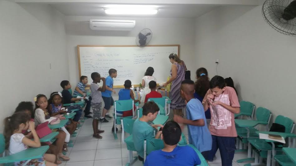Ministério Infantil 1ª Igreja do Nazareno em Nilópolis